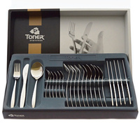 24-piece cutlery sets / gold plated
