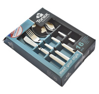 16-piece cutlery sets - economic packaging