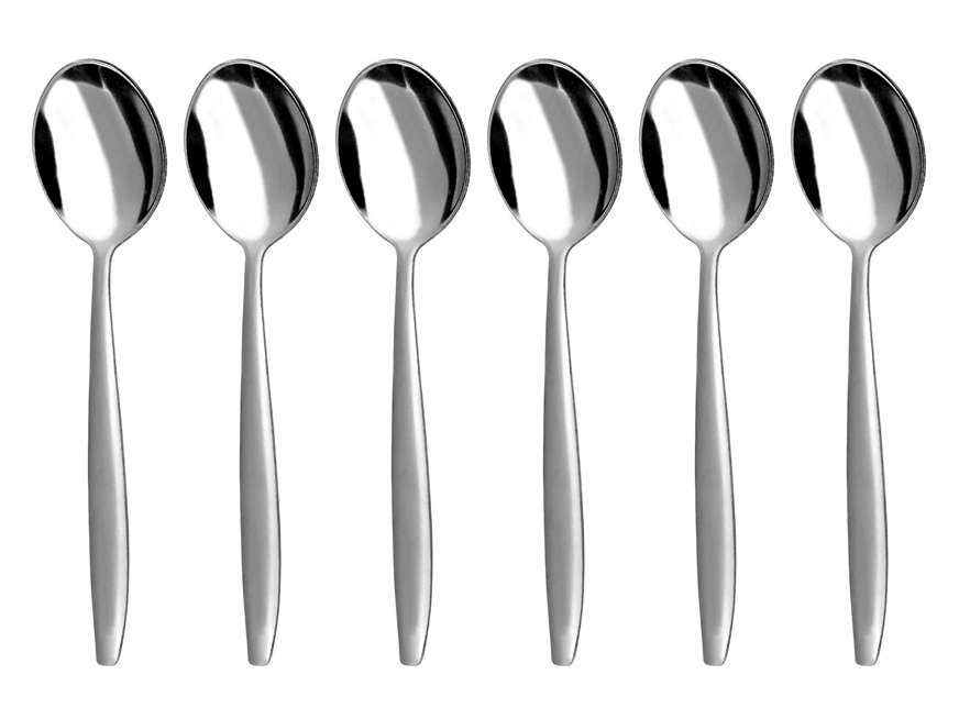PRAKTIK coffee spoon 6-piece - economic packaging
