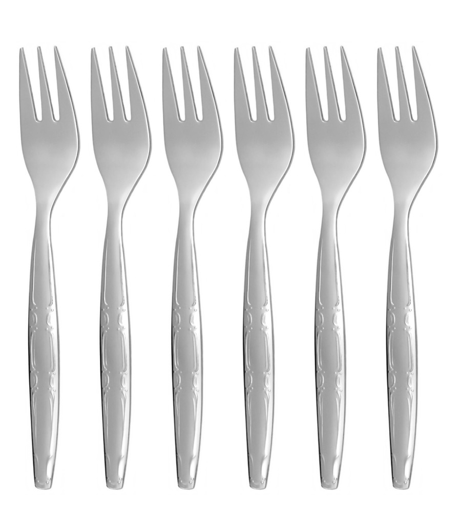 LIDO cake fork 6-piece - modern packaging
