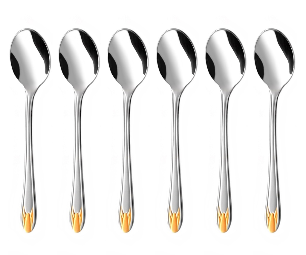 RUBÍN GOLD coffee spoon 6-piece - prestige packaging