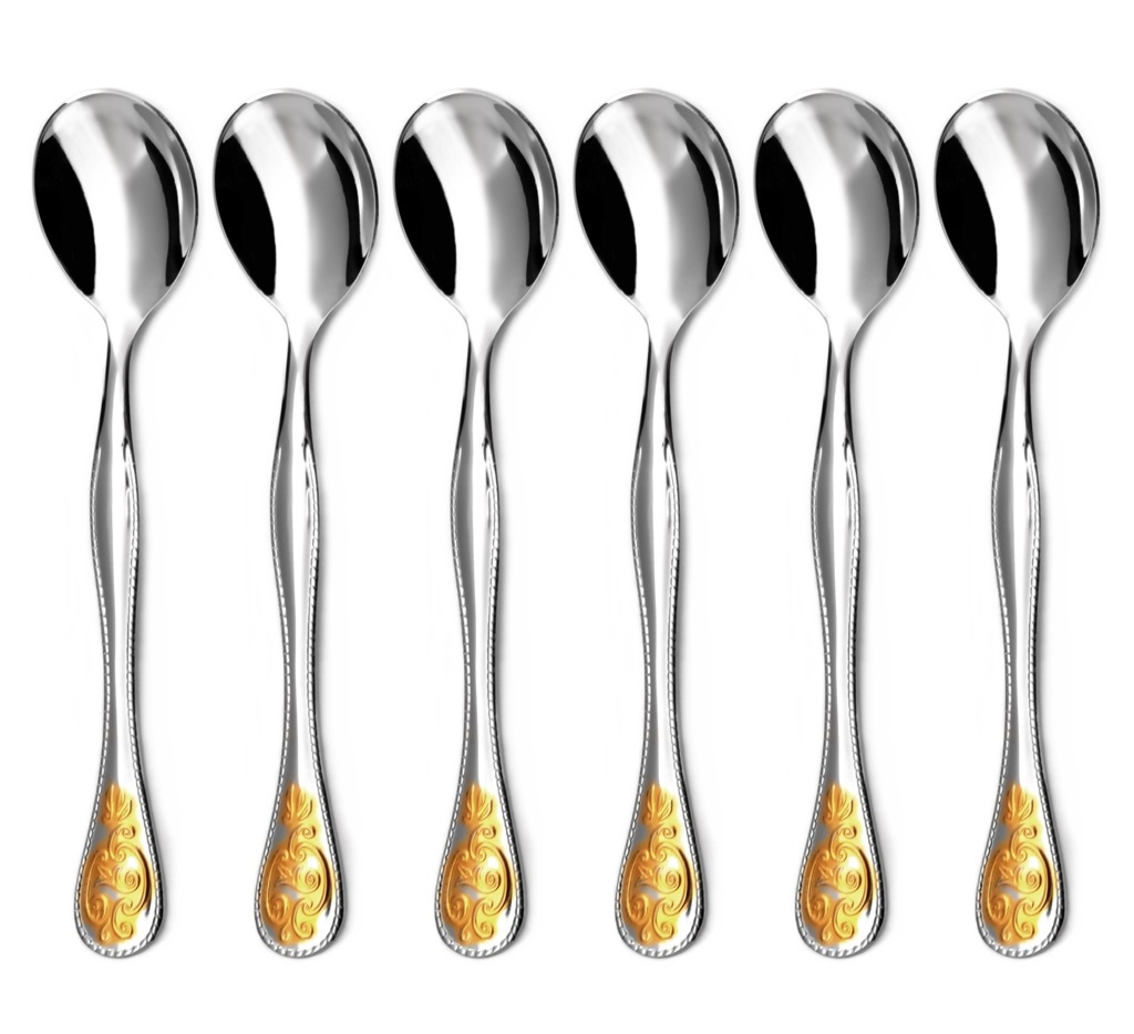 BAROKO GOLD coffee spoon 6-piece - prestige packaging