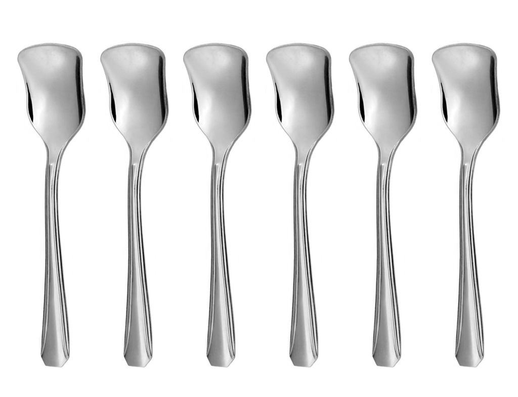 OCTAGON ice-cream spoon 6-piece - modern packaging