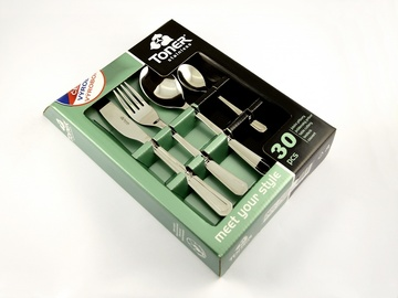 COUNTRY cutlery 30-piece - economic packaging