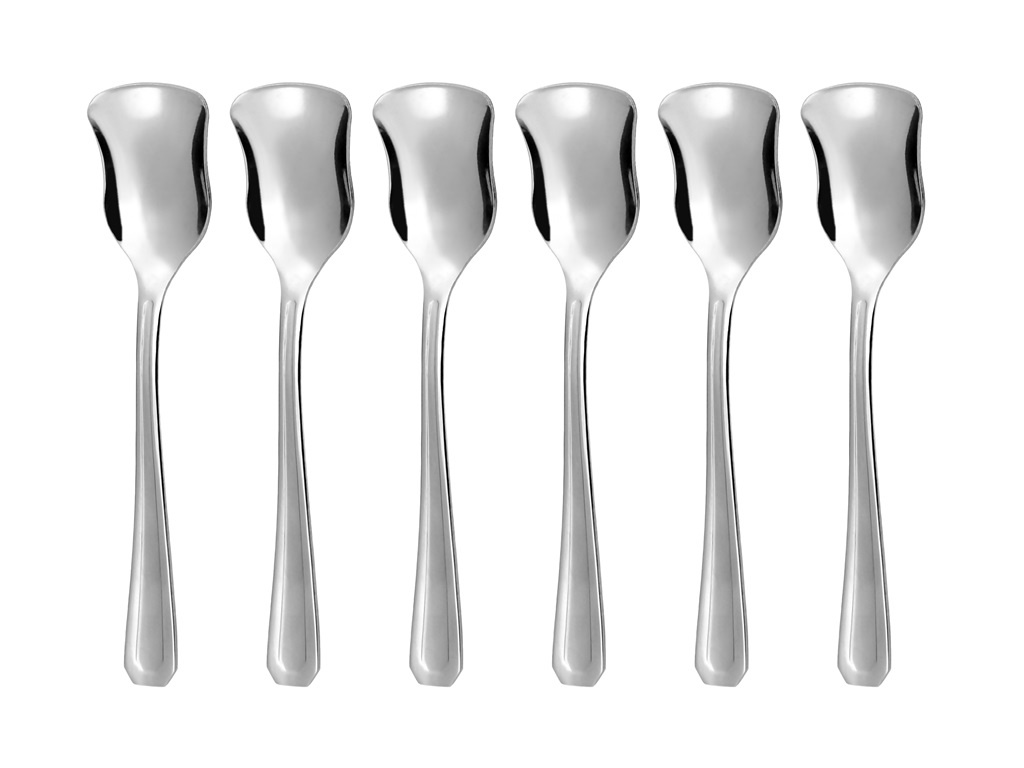 COUNTRY ice-cream spoon 6-piece - modern packaging