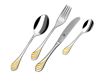 MELODIE GOLD cutlery 48-piece - prestige packaging