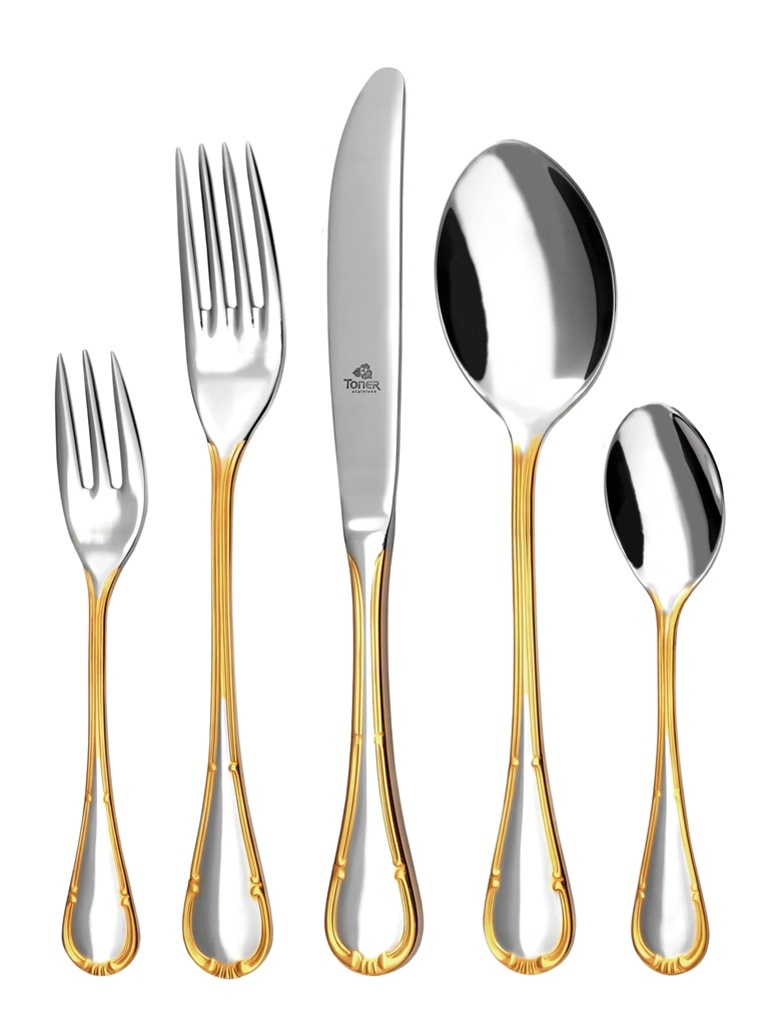 COMTESS GOLD cutlery 30-piece - prestige packaging