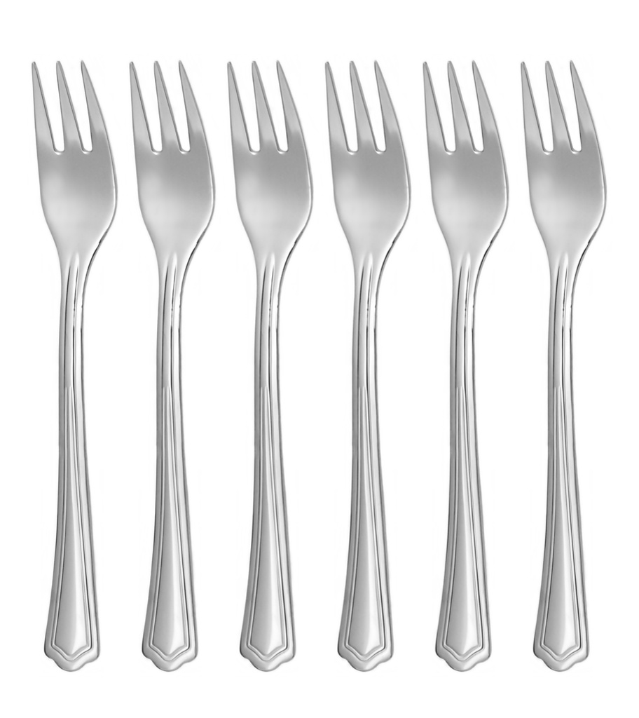 POPULAR cake fork 6-piece - economic packaging