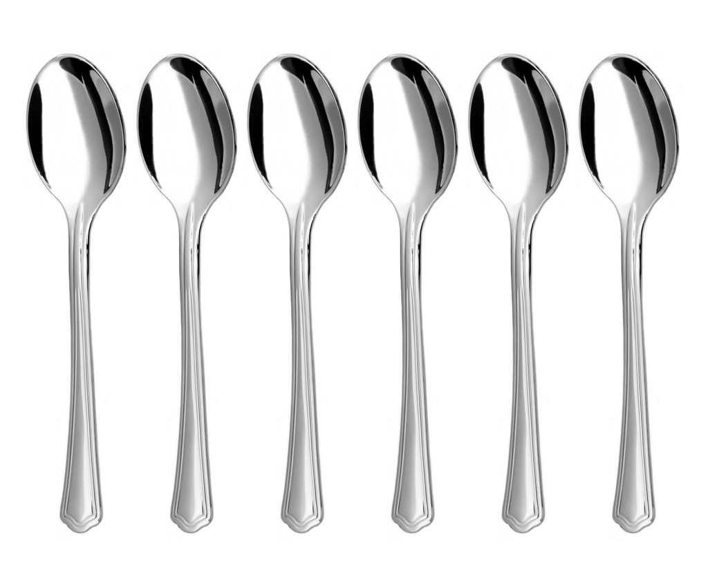 POPULAR coffee spoon 6-piece - modern packaging