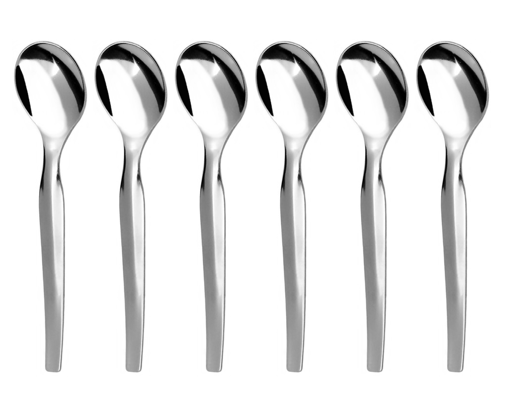 UNI coffee spoon 6-piece - modern packaging