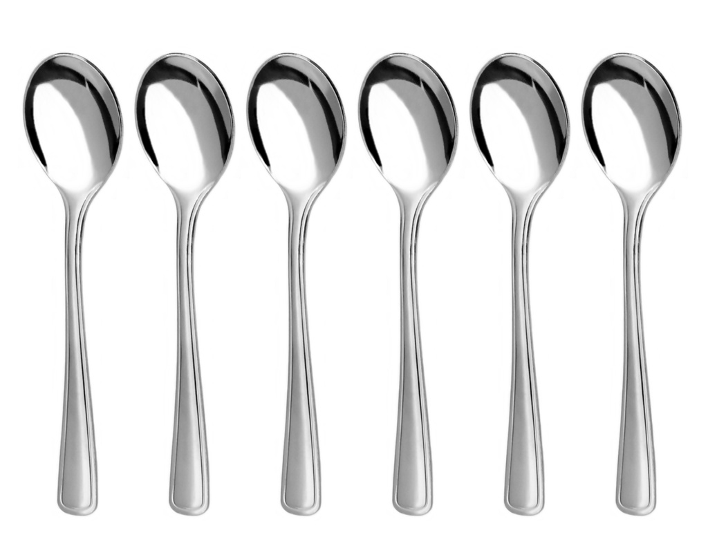 GASTRO coffee spoon 6-piece - modern packaging