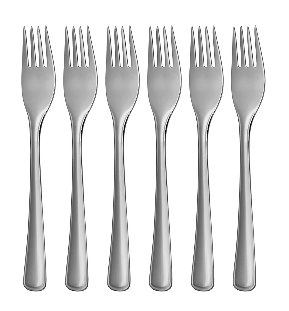 GASTRO cake fork 6-piece - modern packaging