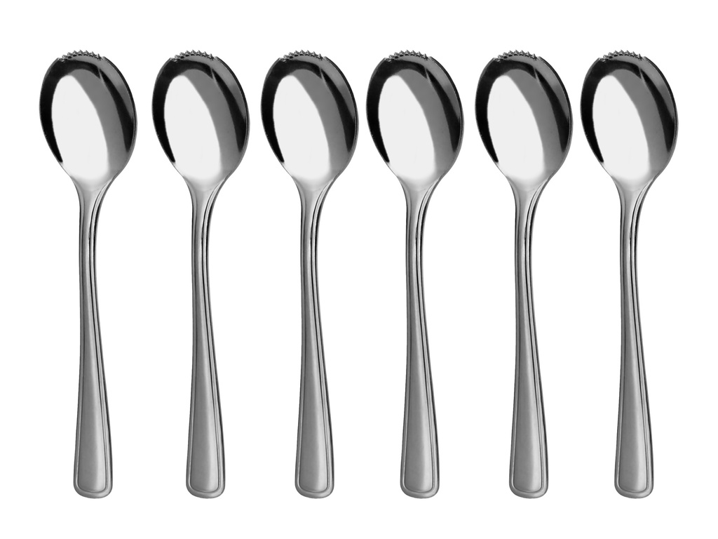 GASTRO grapefruit / kiwi spoon 6-piece - economic packaging