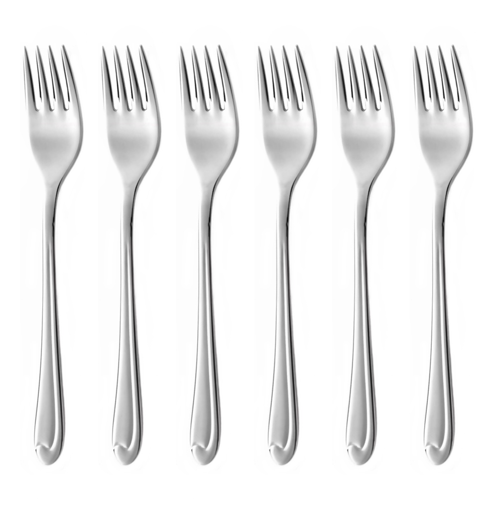 SYMFONIE cake fork 6-piece - economic packaging