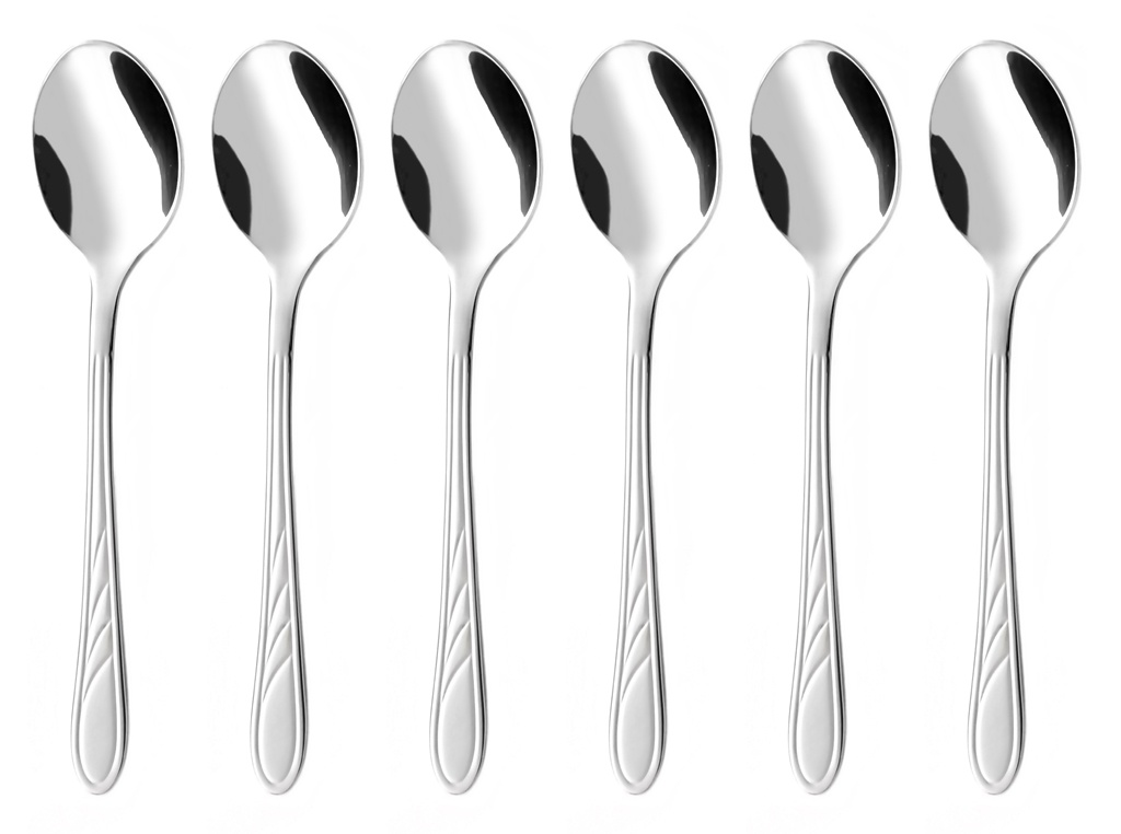 ORION coffee spoon 6-piece - economic packaging