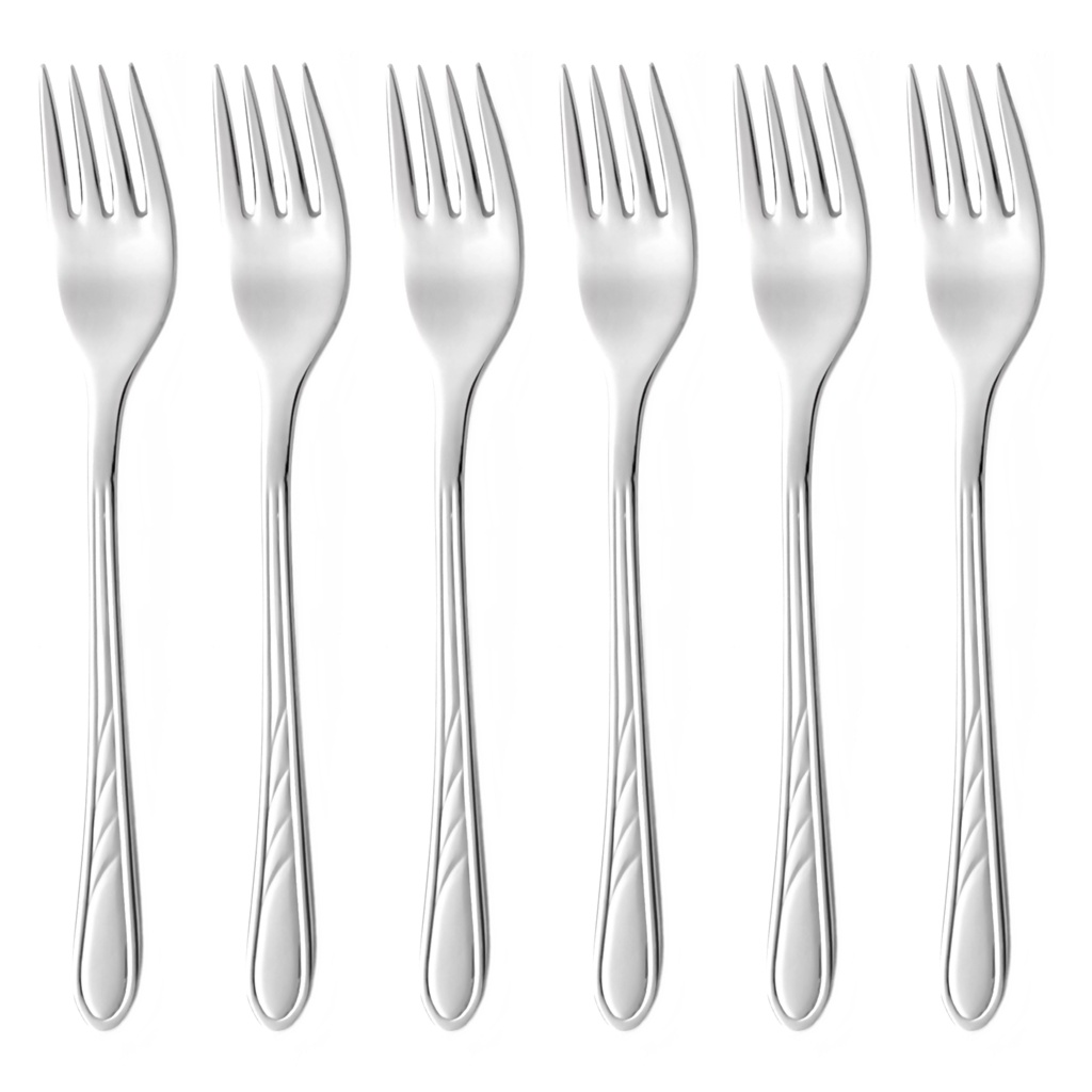 ORION cake fork 6-piece - economic packaging
