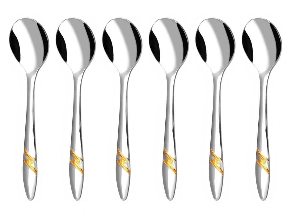 ROMANCE GOLD coffee spoon 6-piece - prestige packaging