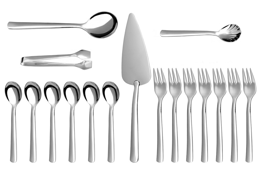 PROGRES coffee & cake set 16-piece - prestige packaging