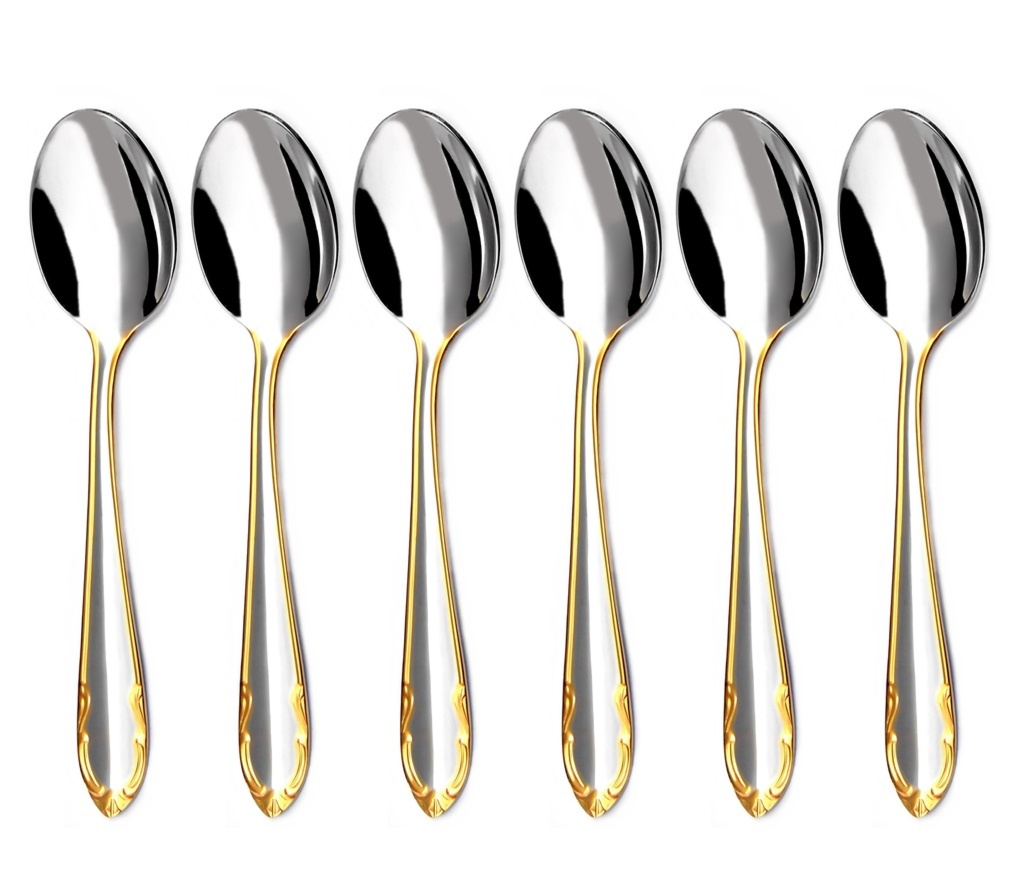 CLASSIC GOLD coffee spoon 6-piece - prestige packaging