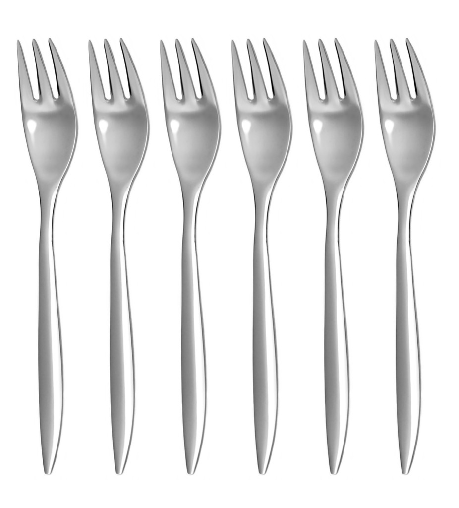 ELEGANCE cake fork 6-piece - prestige or trend packaging
