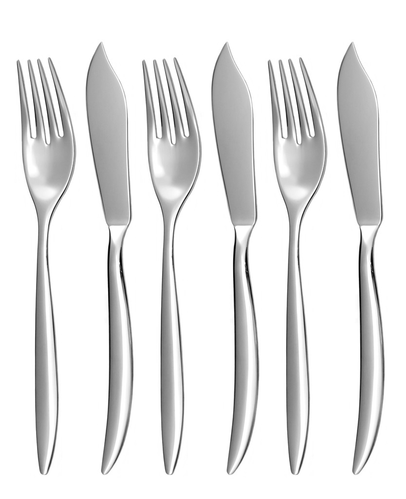 ELEGANCE fish cutlery 6-piece - economic packaging