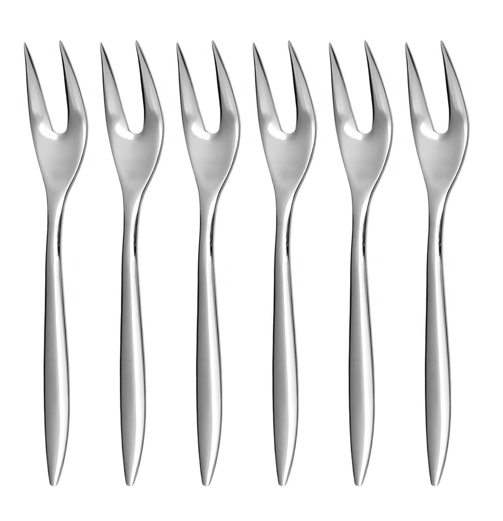 ELEGANCE cocktail fork 6-piece - prestige or trend packaging
