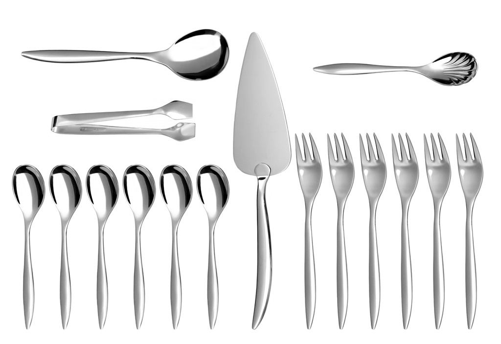 ELEGANCE coffee & cake set 16-piece - prestige packaging