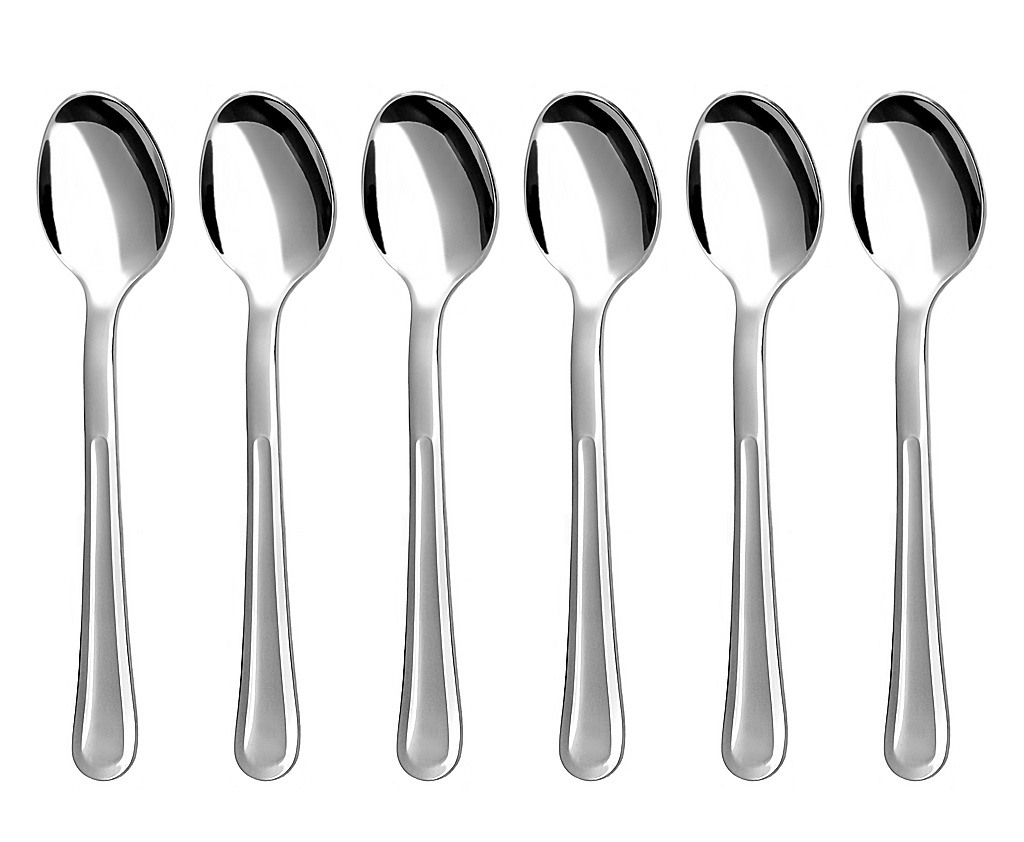 PRAHA coffee spoon 6-piece - economic packaging