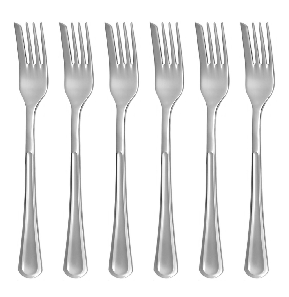 PRAHA cake fork 6-piece - economic packaging