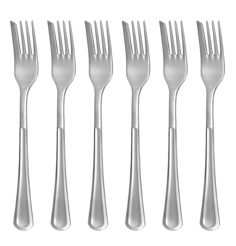 PRAHA cake fork 6-piece - prestige or trend packaging