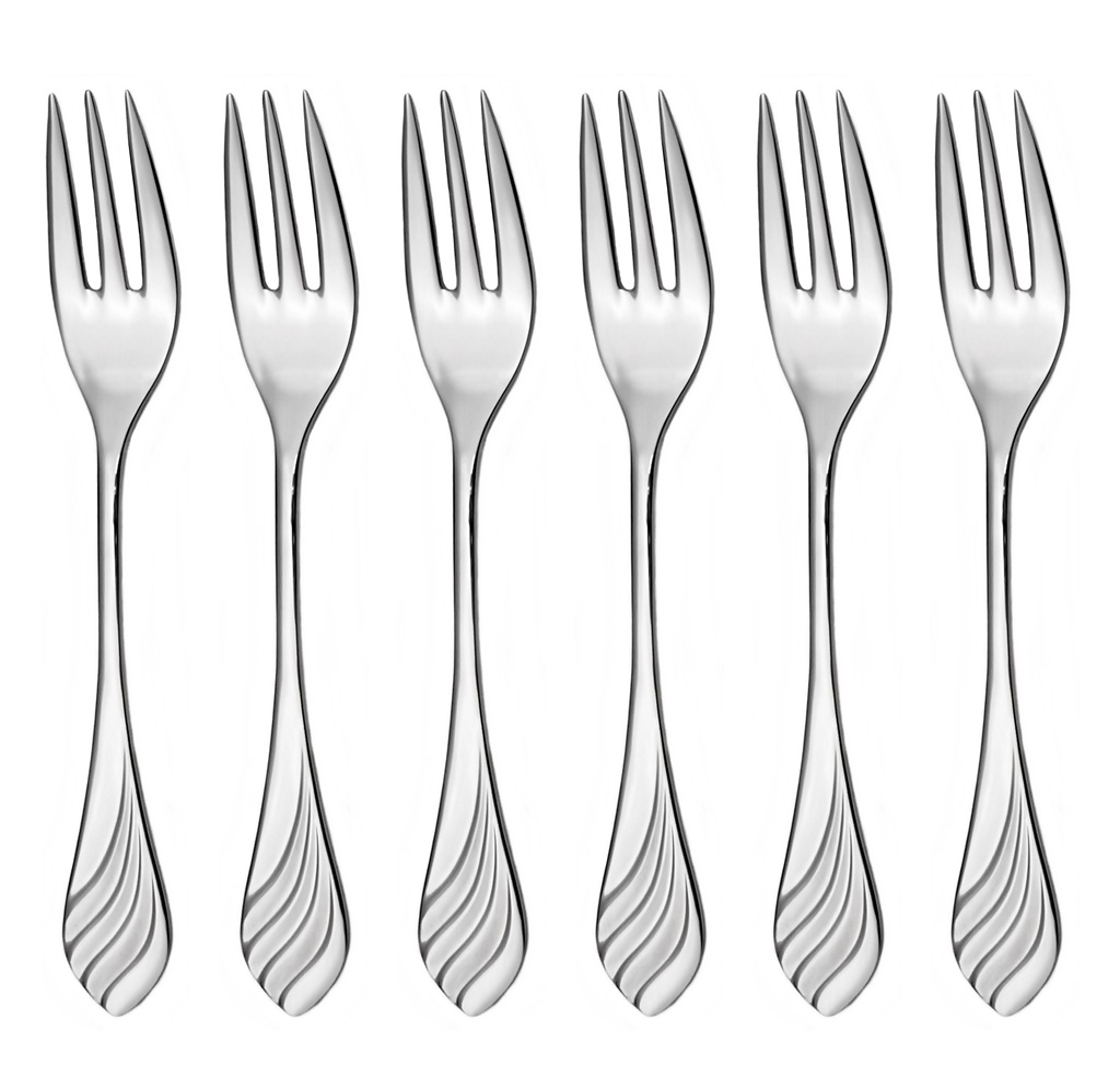 MELODIE cake fork 6-piece - economic packaging
