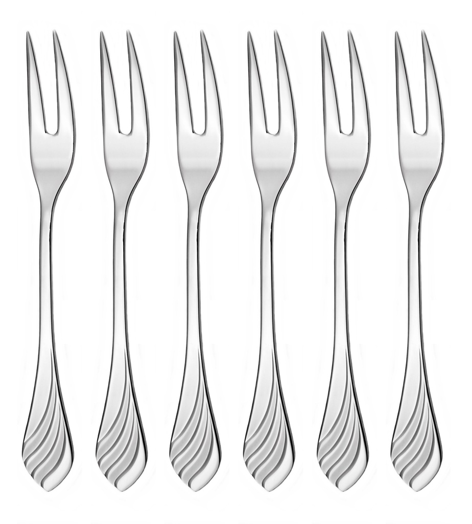 MELODIE cocktail fork 6-piece - economic packaging
