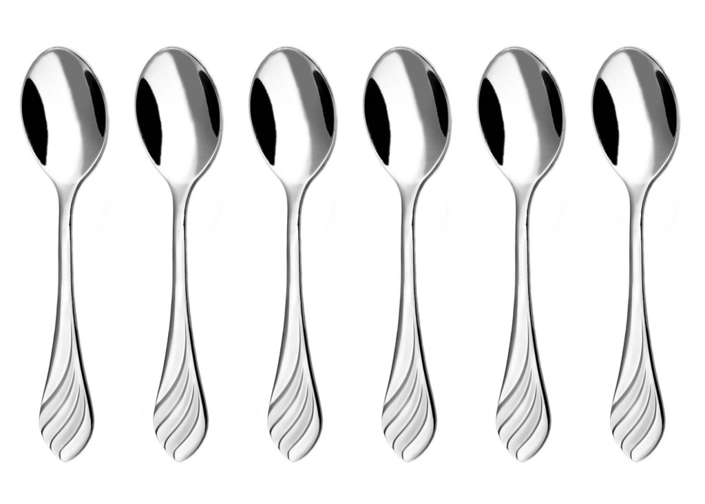 MELODIE moka spoon 6-piece - economic packaging