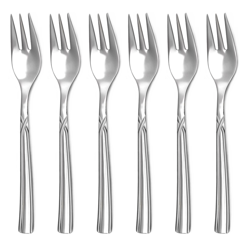 ART cake fork 6-piece - economic packaging