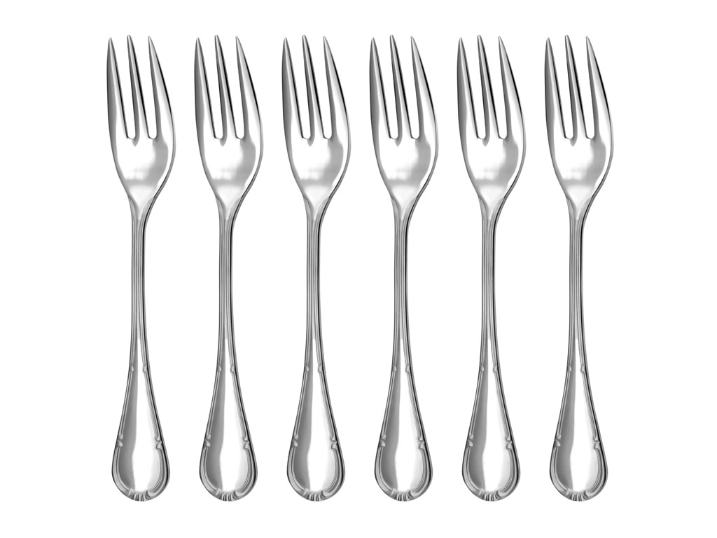 COMTESS cake fork 6-piece - prestige packaging
