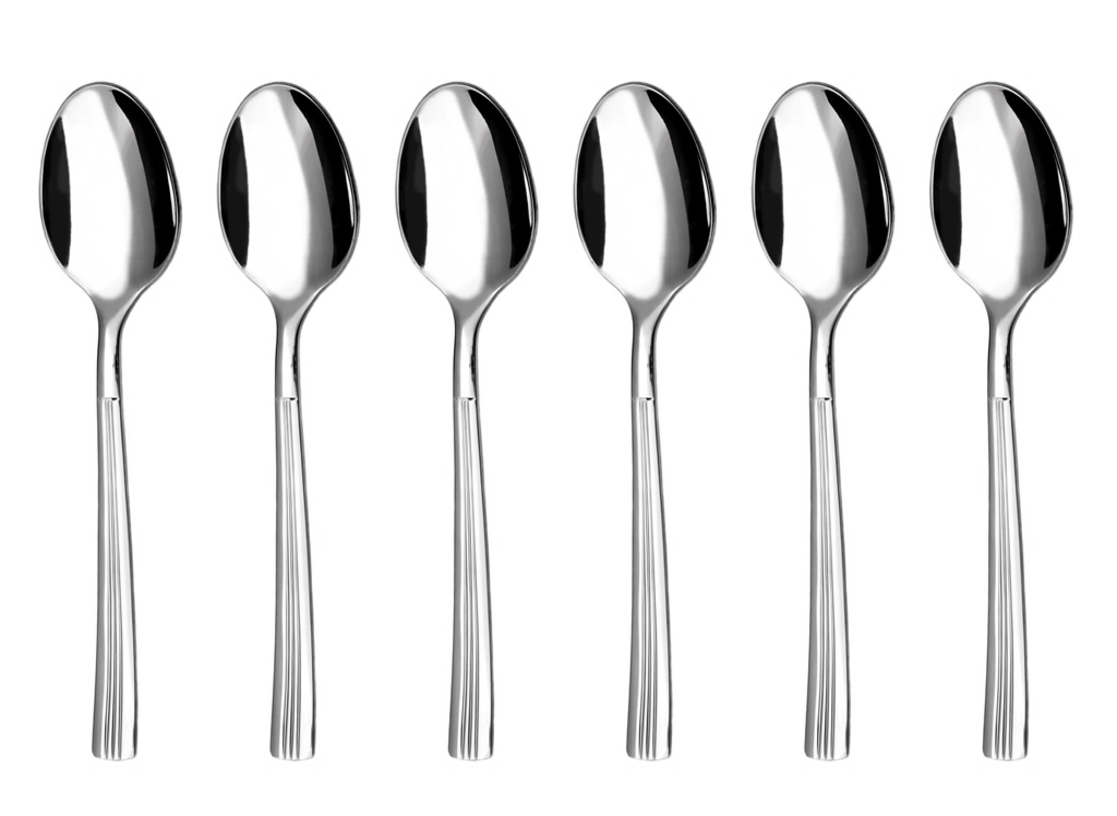 JULIE coffee spoon 6-piece - economic packaging