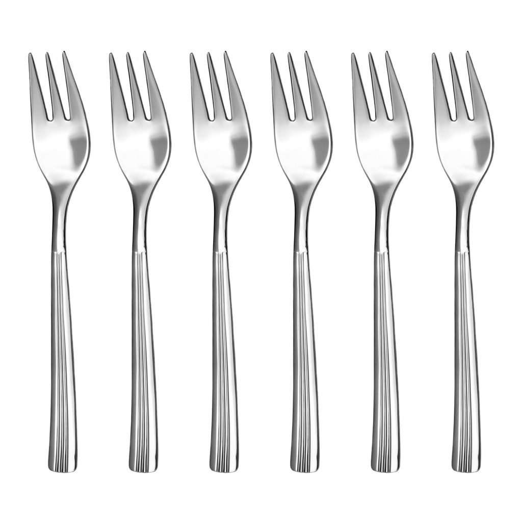 JULIE cake fork 6-piece - economic packaging