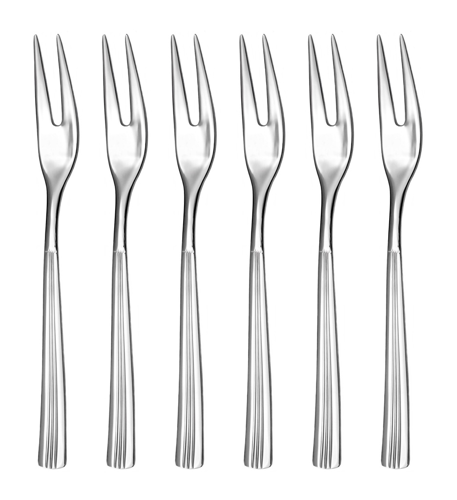 JULIE cocktail fork 6-piece - economic packaging