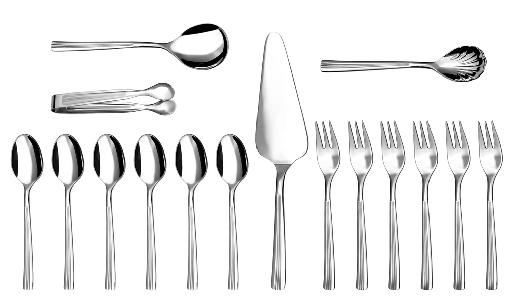 JULIE coffee & cake set 16-piece - prestige packaging