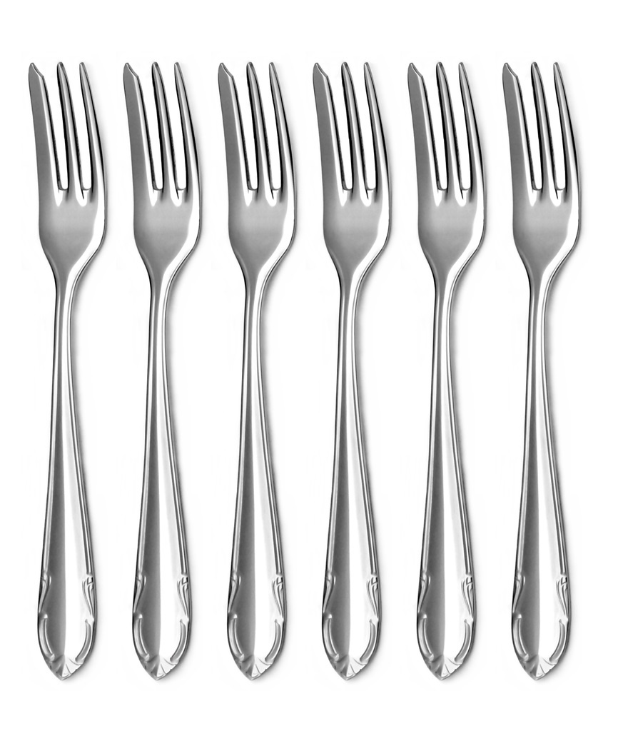 CLASSIC cake fork 6-piece - economic packaging
