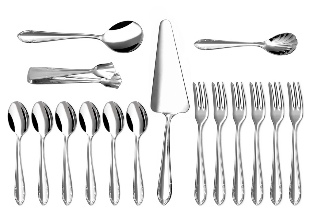 CLASSIC coffee & cake set 16-piece - prestige packaging