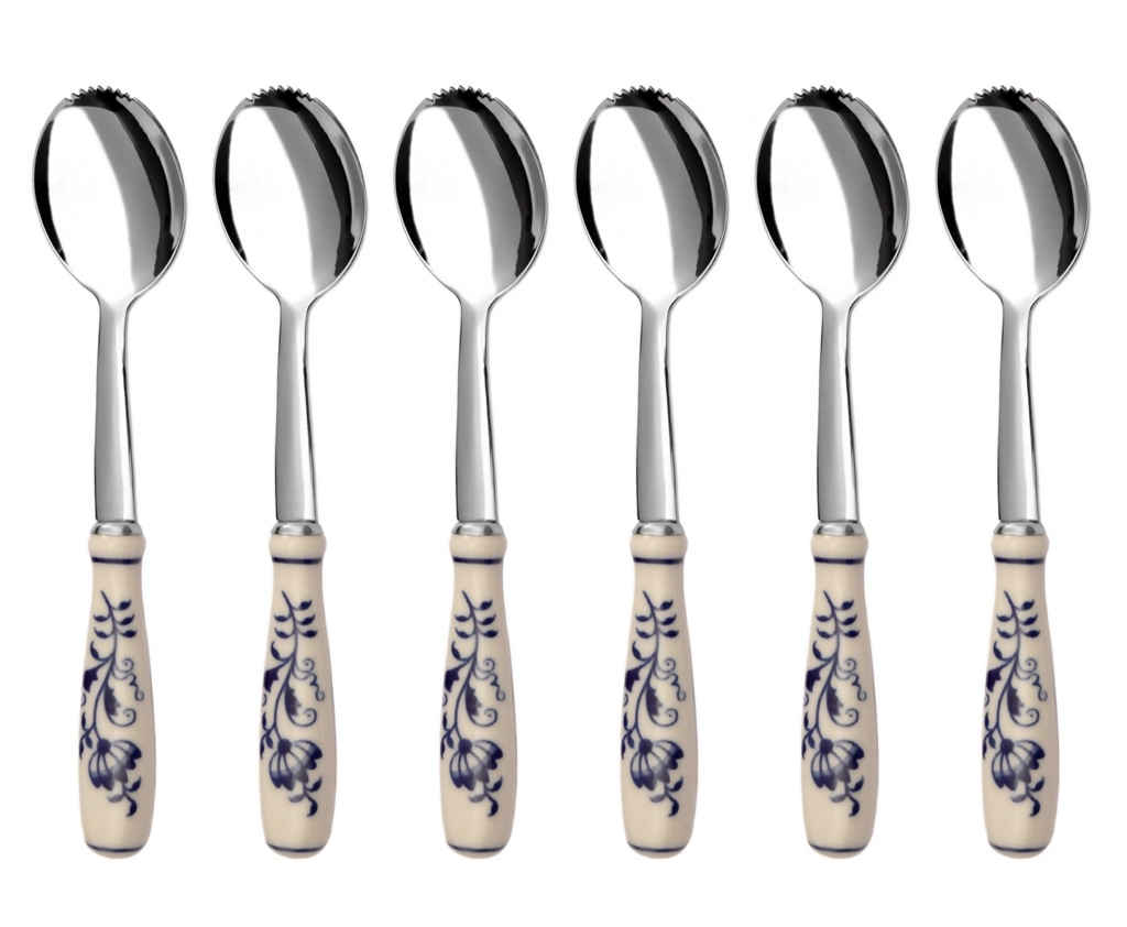 CIBULÁK grapefruit / kiwi spoon 6-piece - prestige packaging