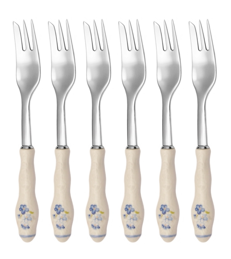 BERNADOTTE cake fork 6-piece - prestige packaging