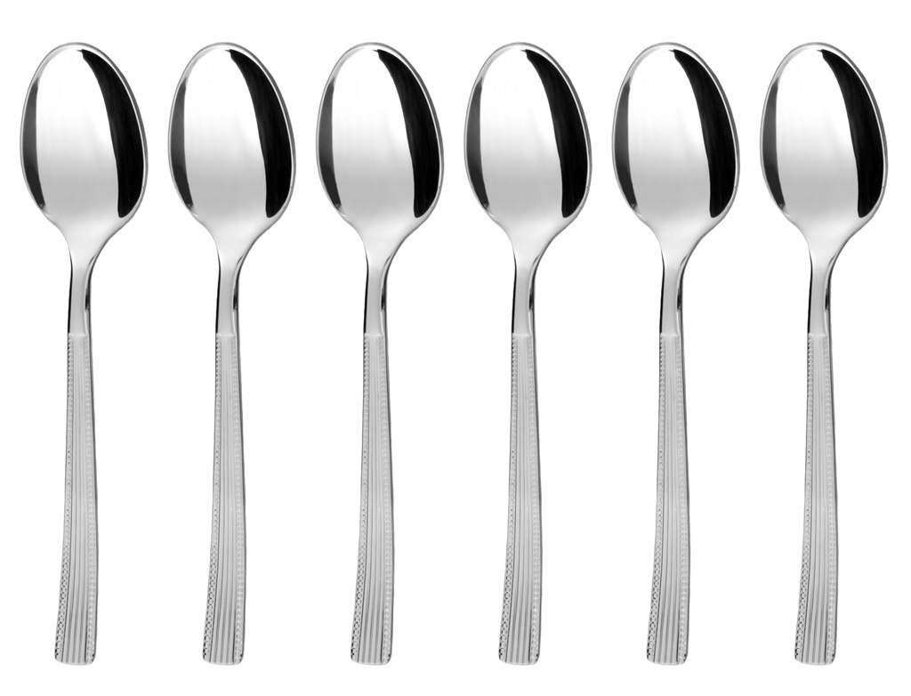 NORA coffee spoon 6-piece - economic packaging