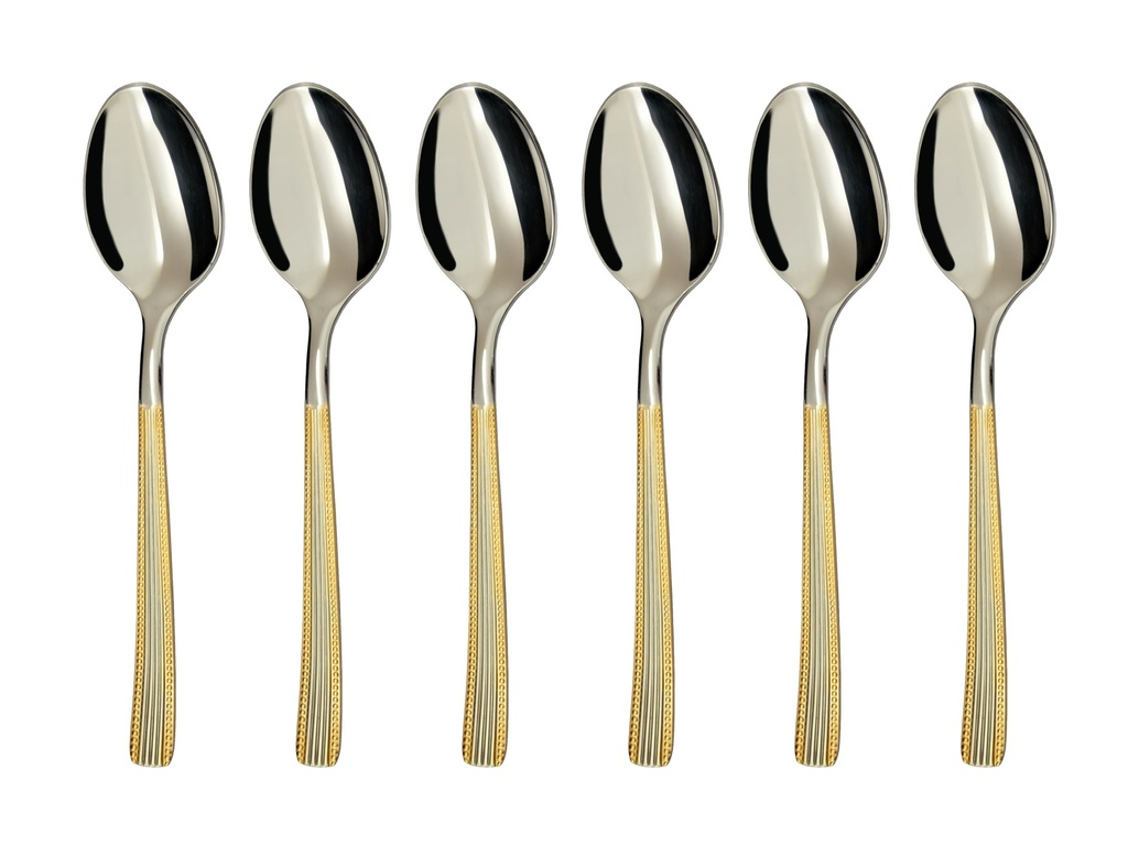 NORA GOLD coffee spoon 6-piece - prestige packaging