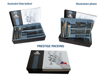 KRÉTA cutlery 48-piece - prestige packaging