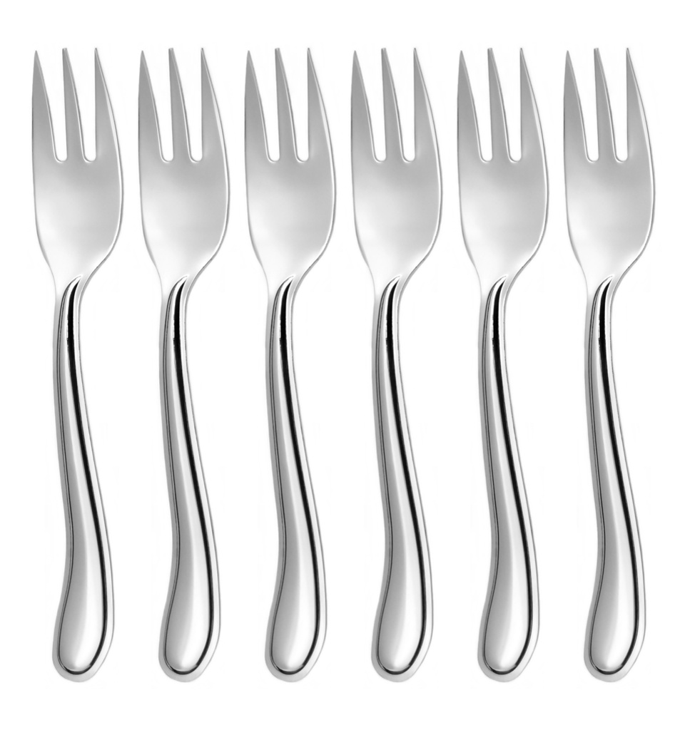 LAMBADA cake fork 6-piece - economic packaging