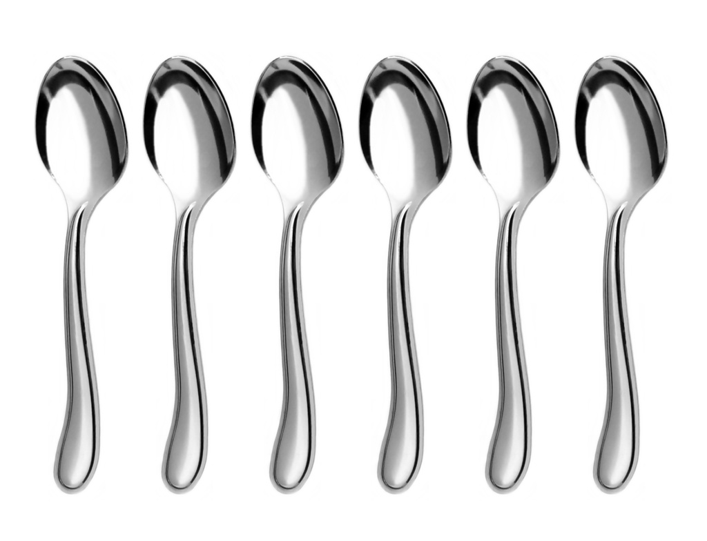 LAMBADA moka spoon 6-piece - economic packaging