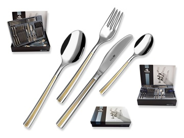 JULIE GOLD cutlery 84-piece - prestige packaging