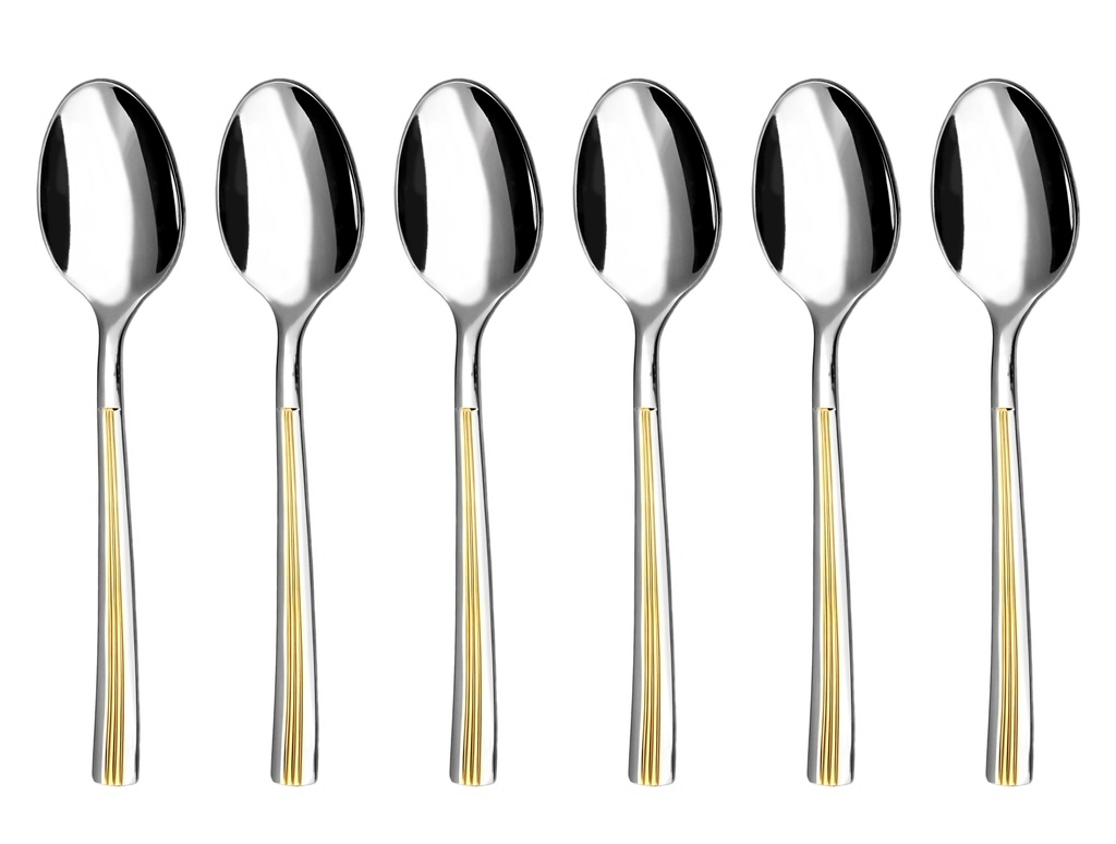 JULIE GOLD coffee spoon 6-piece - prestige packaging